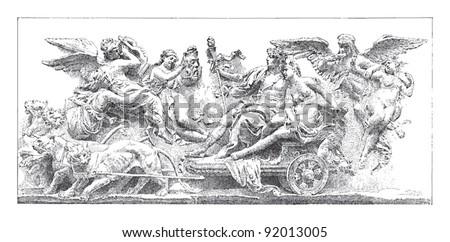 bacchus and ariadne   sculpture ...