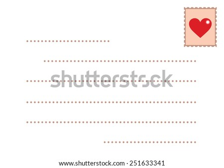 Back to classic love letter and postcard. Send the old-fashion love letter for someone you really love and care about. How beautiful it is to WRITE a letter rather than to TYPE one.