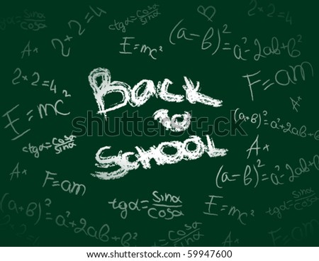 Back to school. Abstract background.