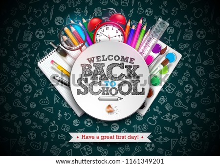 back to school design with