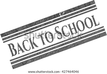 Back to School drawn in pencil