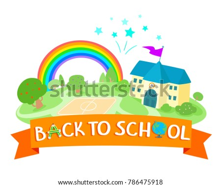 Back to school icon design vector.