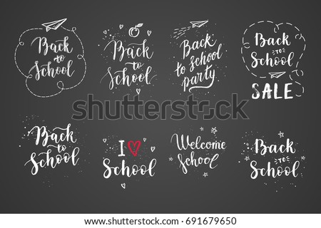 back to school labels  greeting