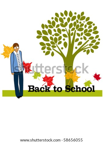 Back to school male