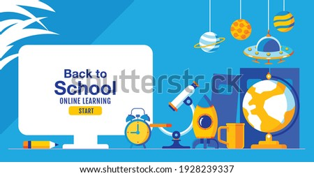 back to school  online learning