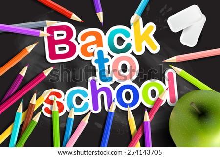 back  to school rainbow