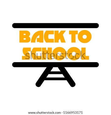 back to school - school education icon
