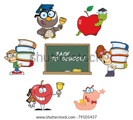 Back to School-Vector Collection