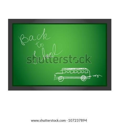 Back to School. vector illustration.