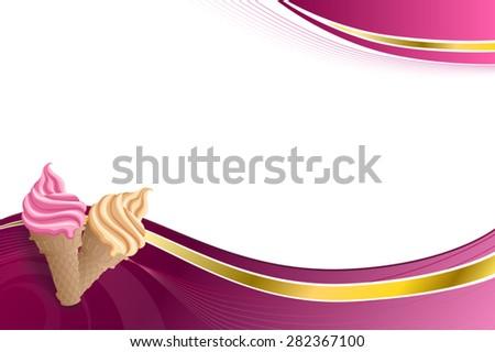Beige Background Vector Background Abstract Pink Beige