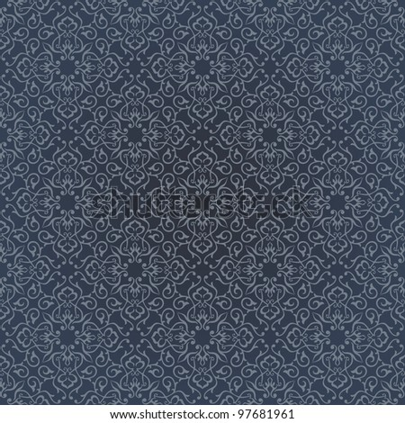 Background. Arabic floral pattern. Simples