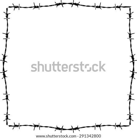 Razor Wire Vector - Download Free Vector Art, Stock Graphics & Images