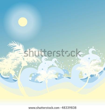 background beach