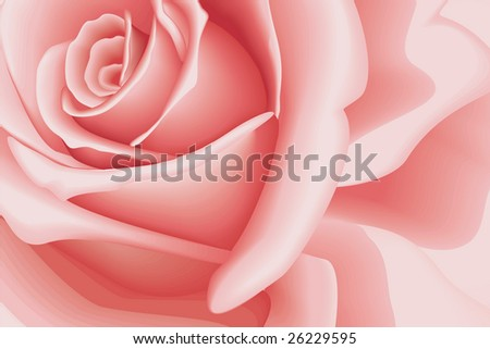 stock vector : Background Beautiful Pink Rose - Wallpaper Vector