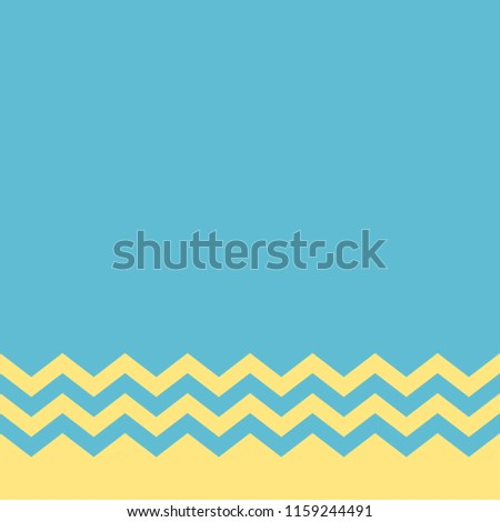 stock-vector-background-blue-and-zigzag-yellow