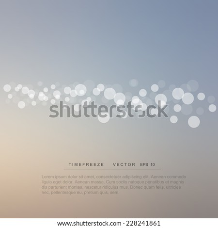 background bokeh abstract