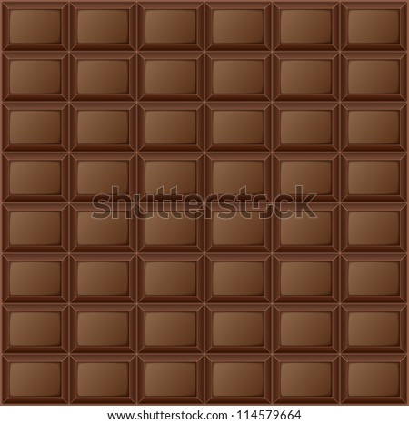 Background chocolate bar. Eps 10