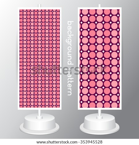 background circle jumbo polka