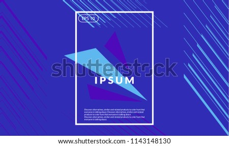 background Colorful geometric. autumn color composition. Eps10 vector. #1143148130