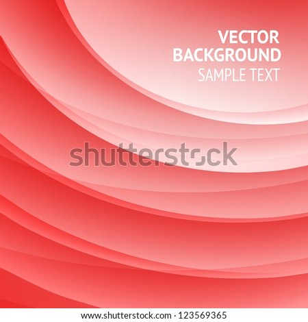 Background design, abstract red backdrop. Vector Illustration, contains transparencies.