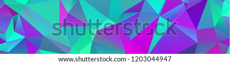 background design Geometric background in Origami style and abstract mosaic with gradient fill Color . rectangle  - Shutterstock ID 1203044947