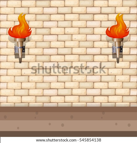 background design with brick