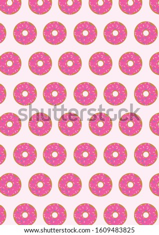 BACKGROUND DONAS TUMBLR - PINK - ILUSTRATION - VECTOR