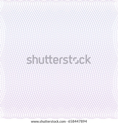Background for certificate, voucher,note,guilloche pattern,