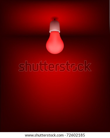 Background for Good Idea.  Low energy light bulbs.  File - contains Gradient mesh