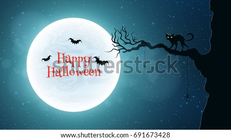 background for halloween black