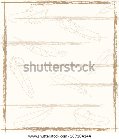 Background for postcard or letter