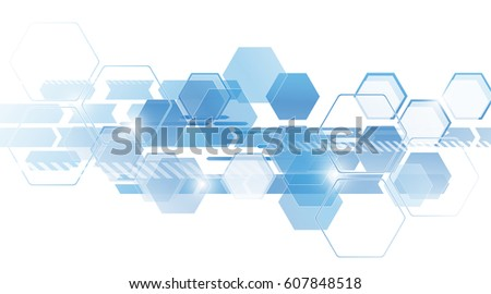 Background from colorful geometrical figures. Simple elements of design for creation of more difficult ideas. Background of hexagons