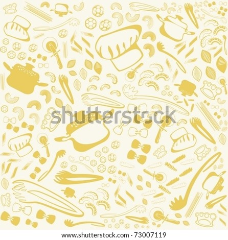 background from macaroni, pasta and ware