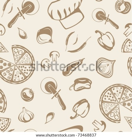 background from pizza