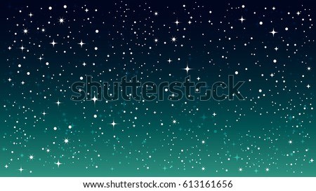background galaxy star