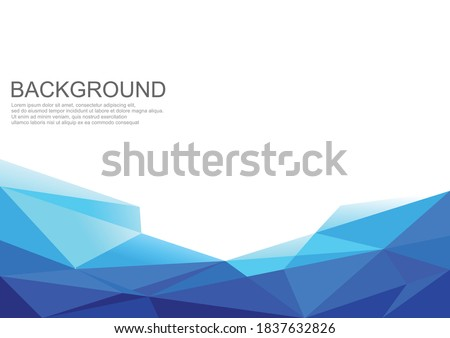 BackGround Geometric Abstract Template Banner