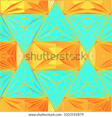 background geometric colorful