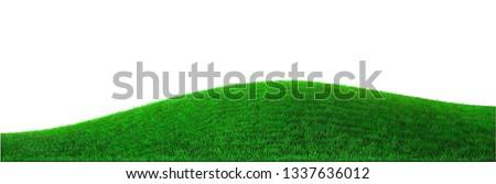background green hills vector