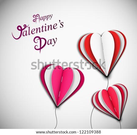 Background happy Valentine's Day. Eps 10