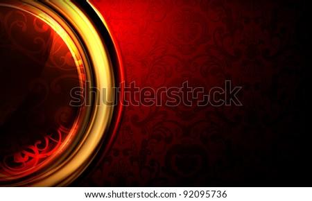 Background Horizontal red, 10eps