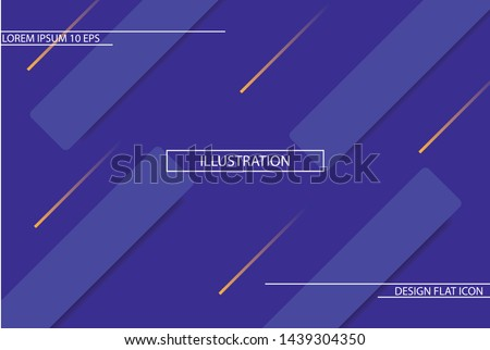 background. Icon Dynamic composition of figures. Minimal geometric abstract background. Futuristic design gradient shapes. Creative illustration perfect for cover. EPS10 Vector #1439304350