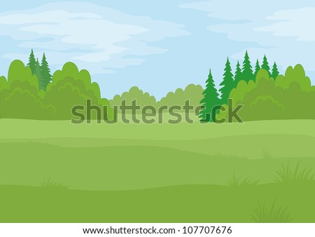 background landscape  summer