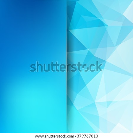 background made of triangles