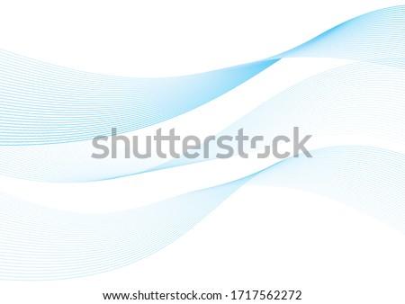 Background material ribbon wave design vector Stockfoto ©