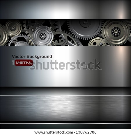 background metallic with