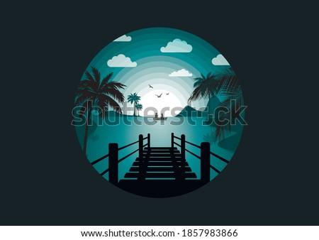 background nature  bay  circles