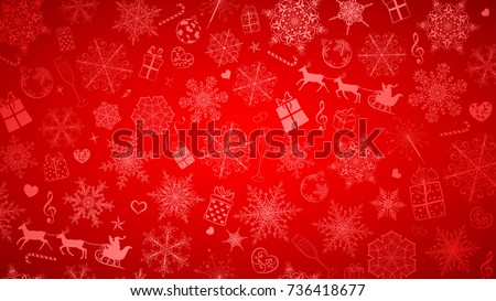 stock-vector-background-of-big-and-small-snowflakes-and-various-christmas-symbols-white-on-red