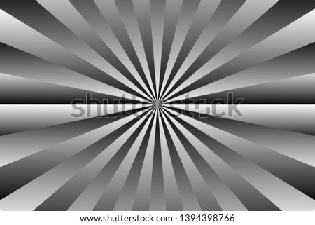 background of black and white stripes,glowing glows,like light from the sun