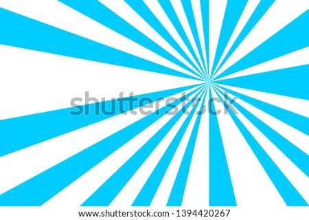 background of blue and white stripes,glowing glows,like light from the sun