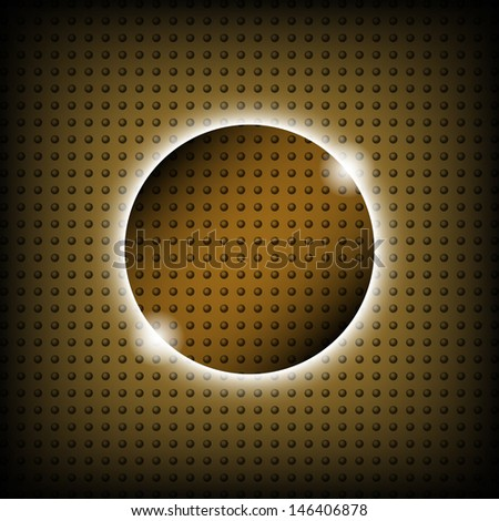 Background of circles - stock vector